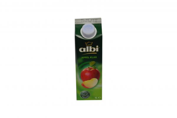 Albi Apfel klar 1L