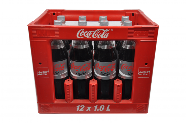 Coca Cola Light PET 12x1L | Coca-Cola | Softdrinks | Alkoholfreie ...