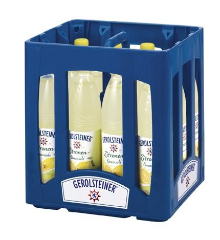 Gerolsteiner Zitronen Limonade PET 12x0,75L