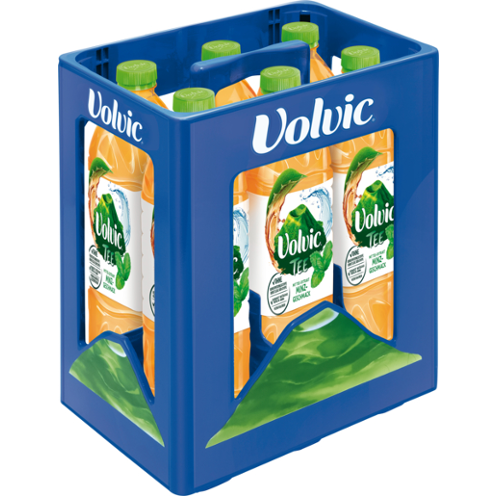 Volvic Tee Grüne Minze 6*1,5L PETC