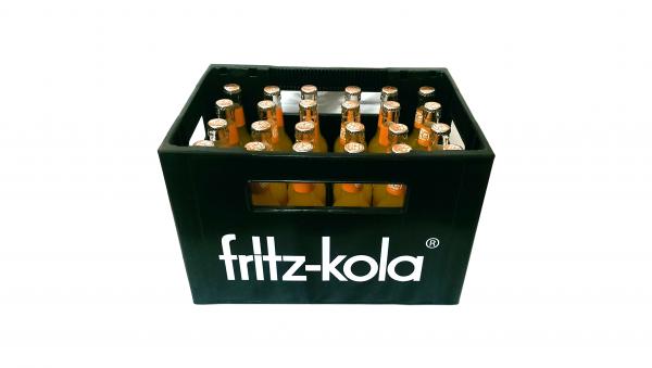 fritz-kola orangenlimonade 24x0,33L