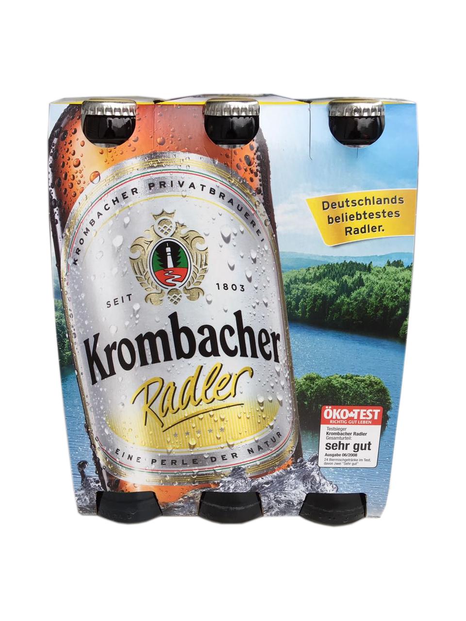 Krombacher Radler 6x0,33L | Krombacher | Marken | Biere ...