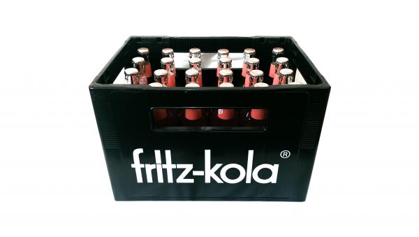 fritz-kola bio-rhabarbersaftschorle 24x0,33L